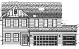 Home will have the elevation shown in the next picture