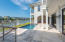 Natural stone pool deck and stairs offering substantial durability and class!
