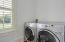 Pool House laundry room on 1st floor - convenient for washing towels, etc!