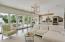 Pool House Family Room Open Floor Plan great for entertaining!