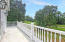 Master balcony overlooking back yard and golf course!