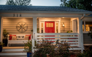 Sweet Low Country front porch