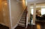 A lovely staircase leads to the BONUS ROOM upstairs!