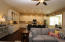 Very large Kitchen with extra large Island with additional seating! Lovely hardwood flooring!