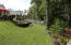 Nice size lawn and garden!