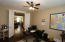 Double-Doors in this Bedroom 3, lead to this Bedroom/Office/Flex Space as was used at one time. Use as you wish but it is larger than photo appears, & the floors are lovely!