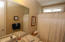 A Full size Bathroom accommodate the two secondary bedrooms.