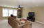 Natural lighting through lovely windows, Ceiling Fan and recessing lighting PLUS....
