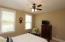 Bedroom with nice windows!