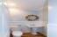 1/2 bath main kitchen/dining/living room level