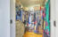 Large walk in closet and multiples closets in the master