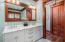 First floor master suite bath