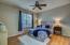 Hardwoods in master bedroom