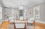 Versatile Space: 5th bedroom/Bonus Room/2nd Family Room.