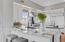 Kitchen renovation! Beautiful custom cabinetry, granite countertops and backsplash.