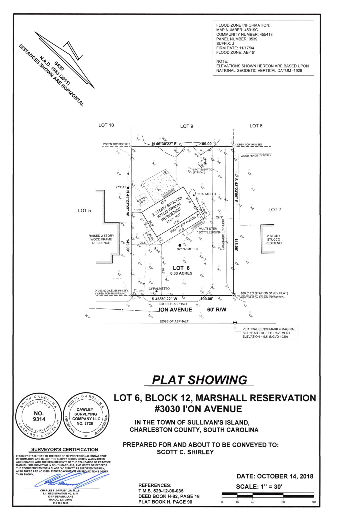 3030 Ion Avenue UNIT B Sullivans Island, SC 29482
