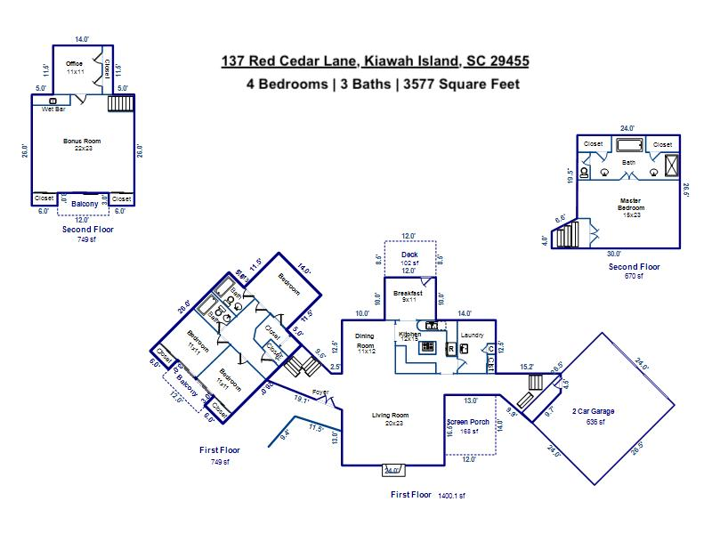 137 Red Cedar Lane Kiawah Island, SC 29455