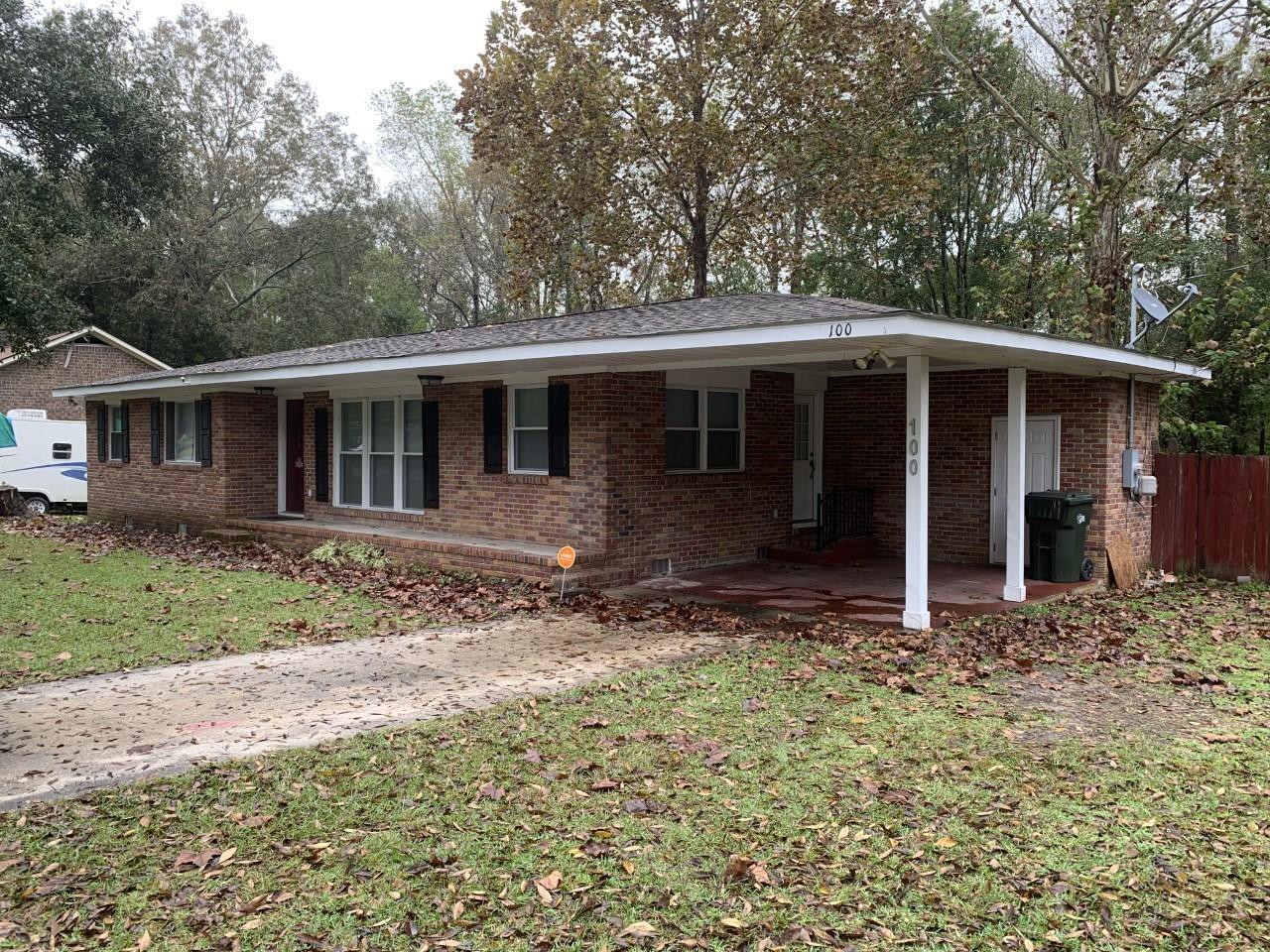100 Cuthbert Drive Goose Creek, SC 29445
