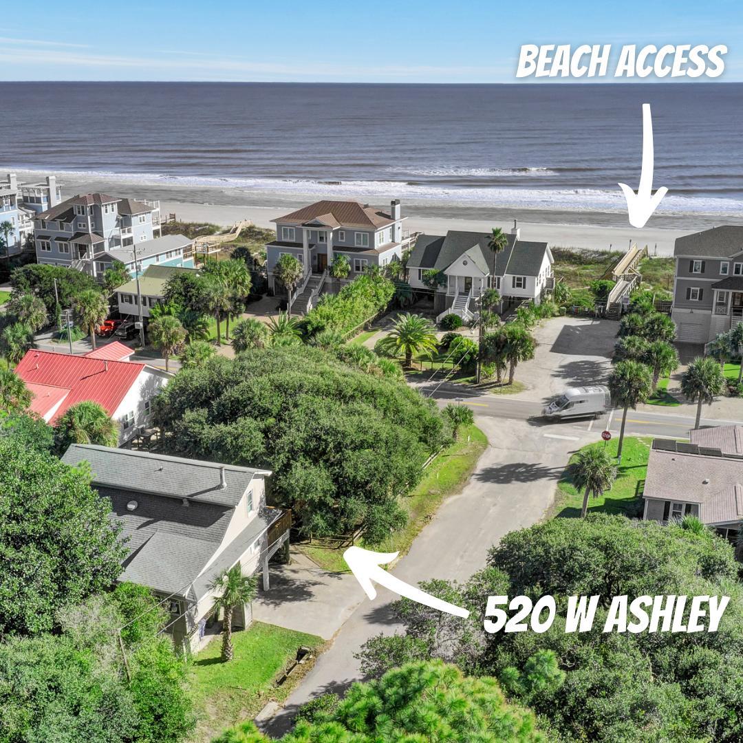 520 W Ashley Avenue Folly Beach, SC 29439