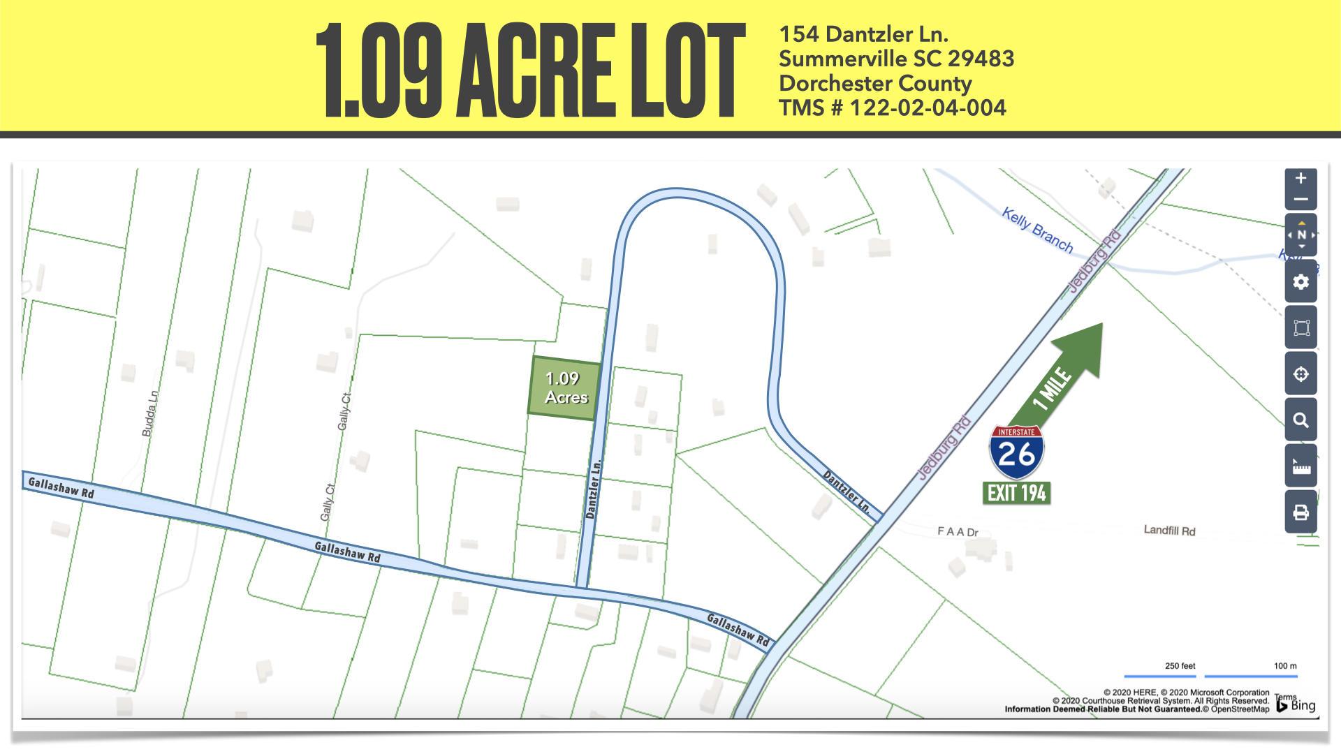 154 Dantzler Lane Summerville, SC 29483