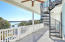 balcony located off of living room with intracoastal views