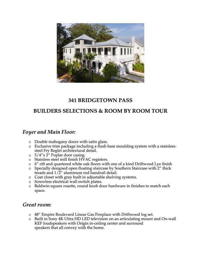 Belle Hall Homes For Sale - 341 Bridgetown Pass, Mount Pleasant, SC - 12
