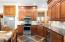 Kitchen Area-Granite Countertops Cherry Cabinets