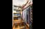 Walk-In Guest Bedroom Closet