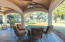 Covered Patio Overlooks the Creek
