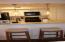 Kitchen with new quartz countertops