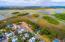 Drone shot of homesite