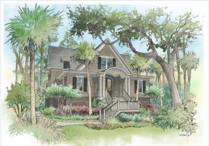 Andell Manor, ARC approved NHC plan, 3,400 sq. ft, 4 br, study, 4 1/2 ba