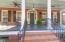 Wide front porches