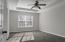 Trey ceilings, fan, new carpet, freshly painted.