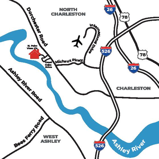 4712 N Palm View Circle North Charleston, SC 29418