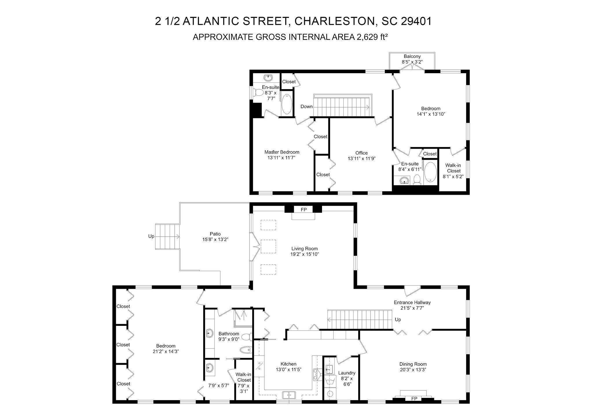 2 1/2 Atlantic Street Charleston, SC 29401