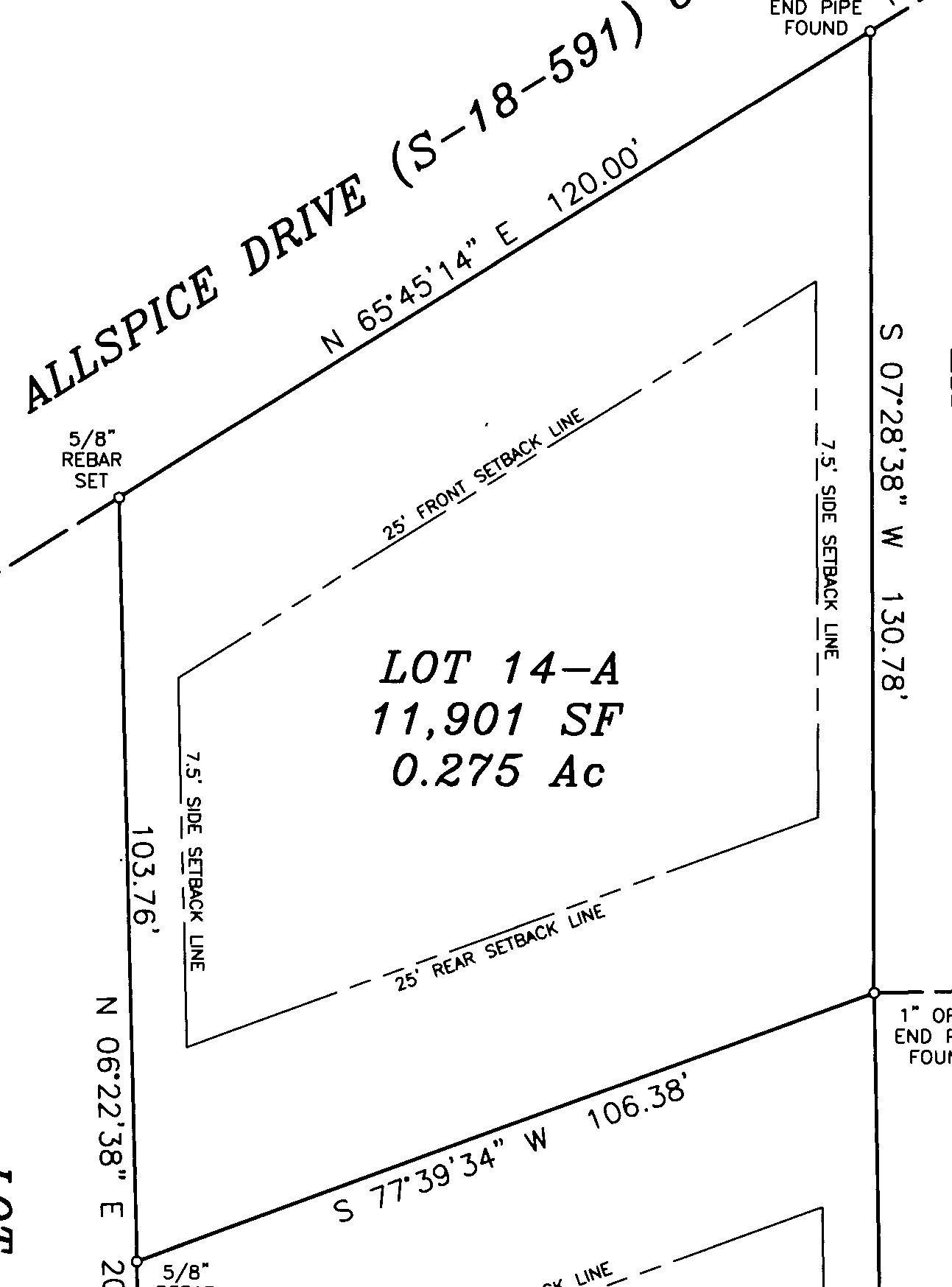 00 Allspice Drive Summerville, SC 29483