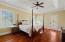 Master bedroom w/ porch access.