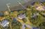 Aerial Views of Home & Dock