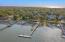 Aerial Views of the Atlantic Ocean, Isle of Palms, 1 Myrtle Blvd, & Private Dock