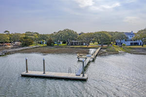 The private dock has a rare 50' private floater with concrete pilings that is perfect for a large yacht, paddle boards, kayaks and all water sports.
