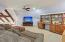 Upstairs loft/media room
