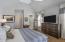 Master bedroom on main floor