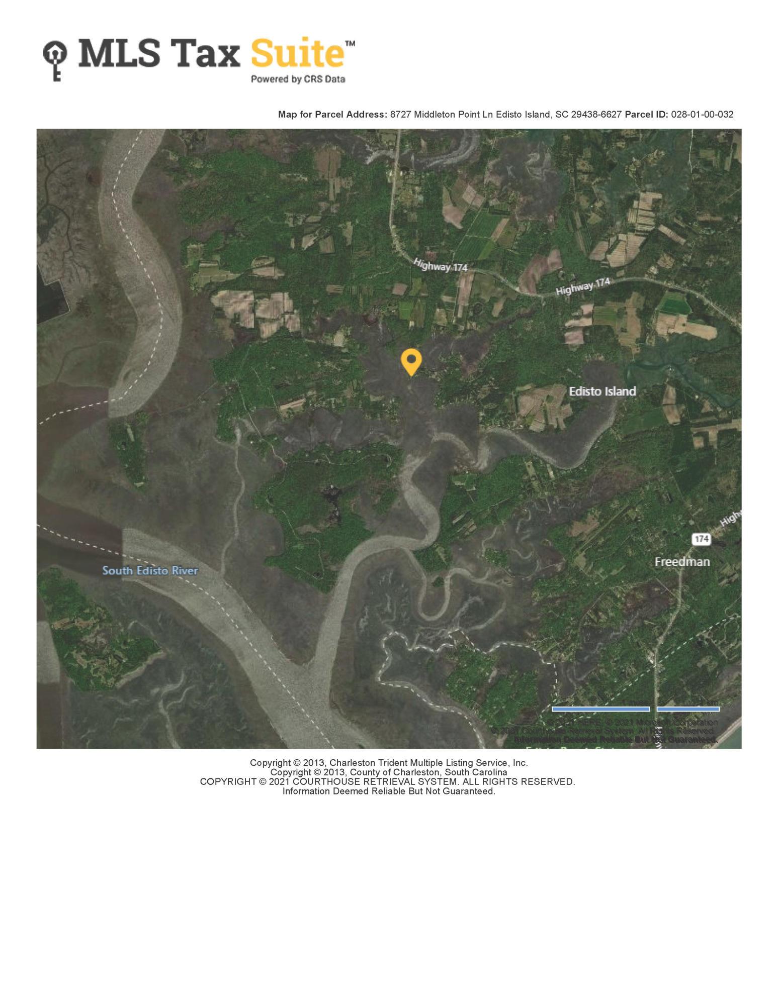 8727 Middleton Point Lane Edisto Island, SC 29438