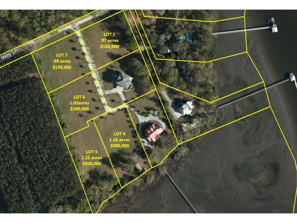 Lot 6 Crystal Harbor Drive Hollywood, SC 29449