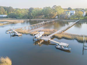Shared dock and private boat lift to easily accommodate large water craft!