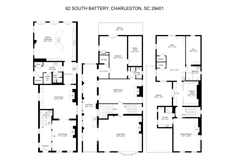 62 S Battery Street Charleston, SC 29401