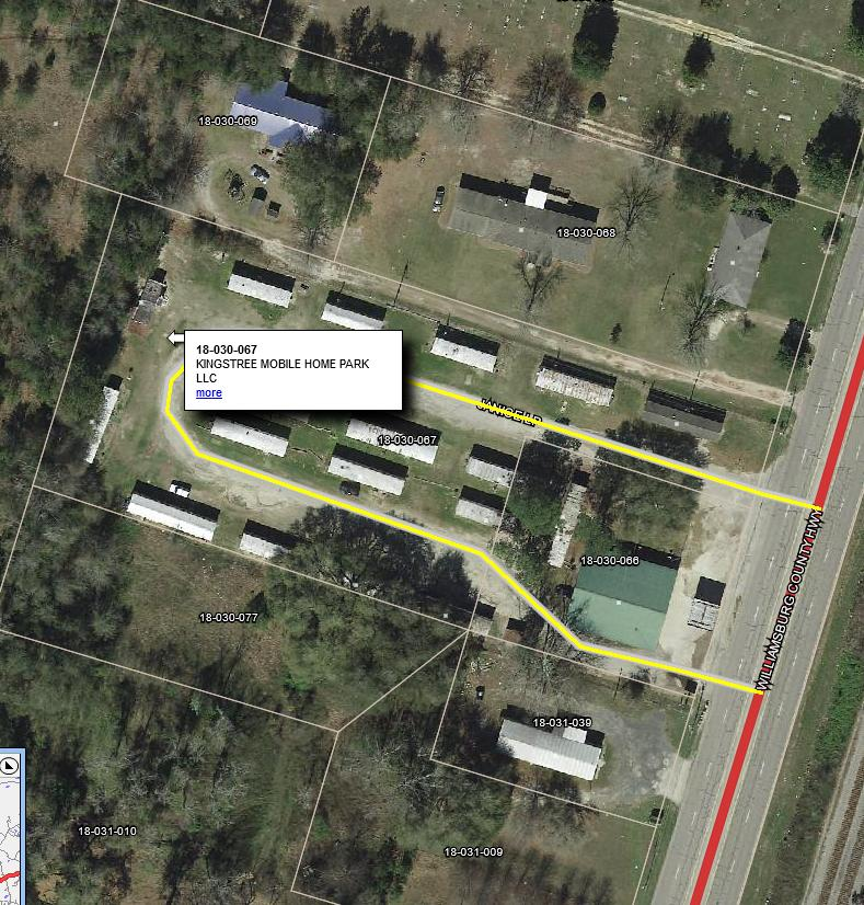 529 Williamsburg County Highway Kingstree, SC 29556