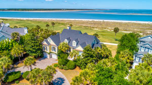Half Acre lot over looking the Atlantic Ocean and 17th Hole of Links Golf Course in Wild Dunes