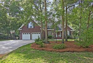 Located in one of Summerville's most desirable neighborhoods, Ashborough East, is where this 5 bedroom 3.5 bath home sits on a .75 acre lot with tons of mature trees and natural landscape. All major updating has been done on this home, upgraded features include: New HVAC - 2018 (downstairs) 2019 (upstairs), new roof 2020, removed popcorn ceiling 2020, new kitchen appliances 2019 and kitchen renovation 2020. As you enter the home, you'll notice all the natural light, and the hardwood floors in the spacious foyer that extend into the dining room and formal living room. The kitchen with its eat in area opens to the family room with it's high vaulted ceiling and gas fireplace. The first floor Owner's Suite features an additional sitting room, trey ceiling, and en-suite with ceramic tile flooring, whirlpool soaking tub, separate shower, dual vanities, and large walk-in closet. The laundry room and powder room complete the first floor. The wood floors continue to the 2nd floor hallway, where you will find a large FROG with a full bath that could be a second Owners Suite, Guest or MIL Suite. The 3 other bedrooms are large with plenty of closet space. The 2nd floor also includes another guest full bath and tons of attic storage space. From the family room you access to the expanded raised deck with its built-in jacuzzi and full view of the LARGE fenced in backyard. The home also has an oversized 2 car garage and a dehumidifier in the crawl space. See a compete list of additional updates in photo gallery.  The HOA fee includes Pool, Club House, Tennis, Nature Trails & Common Area Landscape maintenance. RV Parking for a small additional fee when available. Ashborough East is located in the award-winning Dorchester 2 School District and just minutes from shopping, dining, & recreation. Come see your new home TODAY!